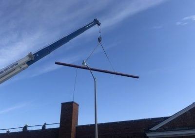 Luray VA steel lift (crane)