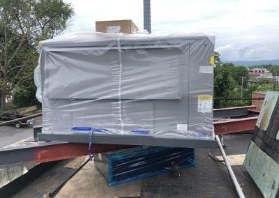 Luray VA unit on new steel