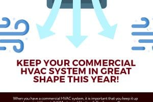 Keep Your Commercial HVAC System in Great Shape This Year! [infograpchi]